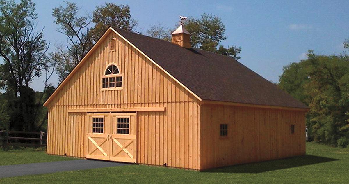 Amish Prefab Barns : Prefab barns bing images