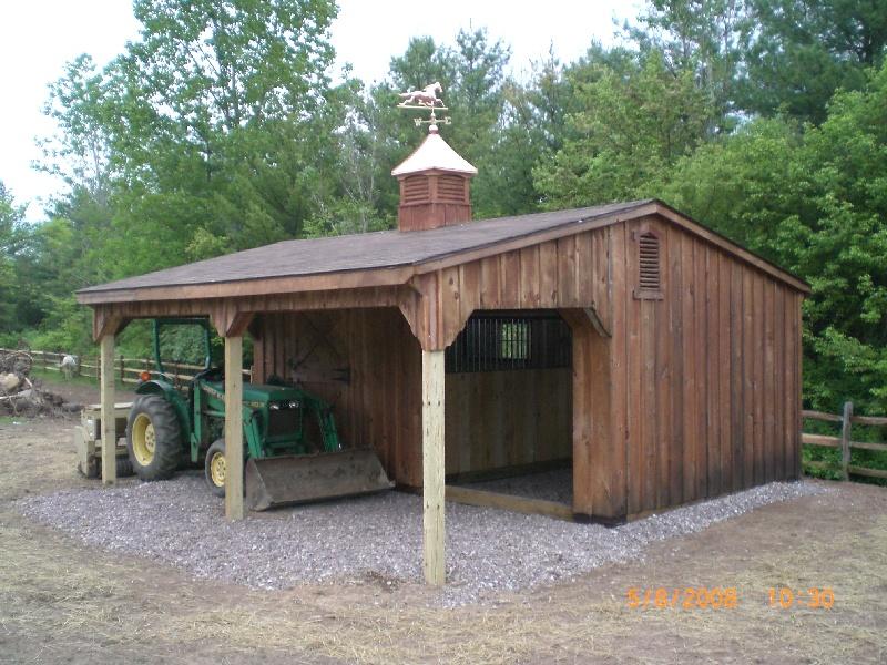 Maryland Amish Horse Barns Shed Row Barns RunIn Sheds and Lean