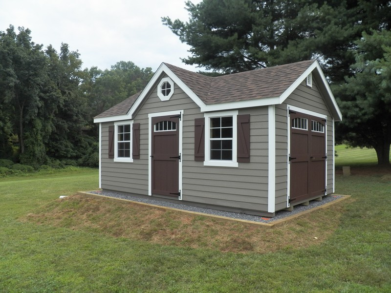 12x16 francis model wood lp lap - Garden Sheds Northern Virginia