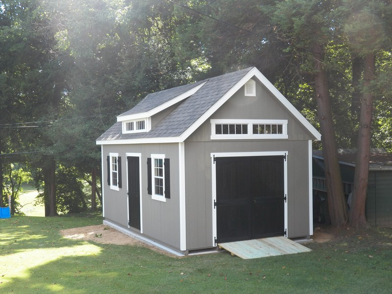 Maryland sheds by the amish sold and delivered to for 12x18 garage plans