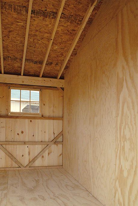 Maryland Amish Horse Barns, Shed Row Barns, Run-In Sheds